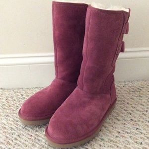 🆕 Authentic UGG pink tall boots- size 7